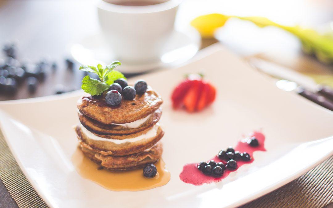 Pancakes in versione light per la vostra colazione!